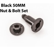 Black Bolt/Nut Set 50MM Distance Centerline