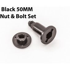 Black Bolt/Nut Set 50MM Distance Centerline-D1025
