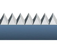 6 Tooth Serrated Rule