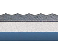 N-250/N-500 Scalloped Serrated Rule