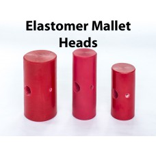 Large Red Mallet Head -D1015H
