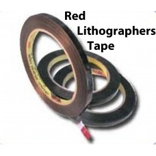 Red Lithographers Tape-3513