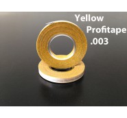 "Yellow Profitape .003"" 12/ .08MM x 18MT= 1/2"" Wide"