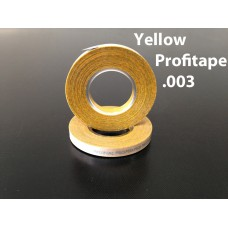 "Yellow Profitape .003"" 12/ .08MM x 18MT= 1/2"" Wide-BSA1574007500"
