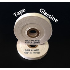 "Tape Glassine-.0015x1/4""x500'-BP250154"